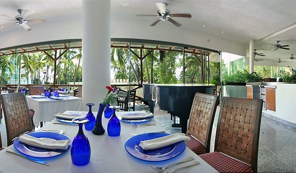 property building Resort restaurant home Villa cottage condominium blue