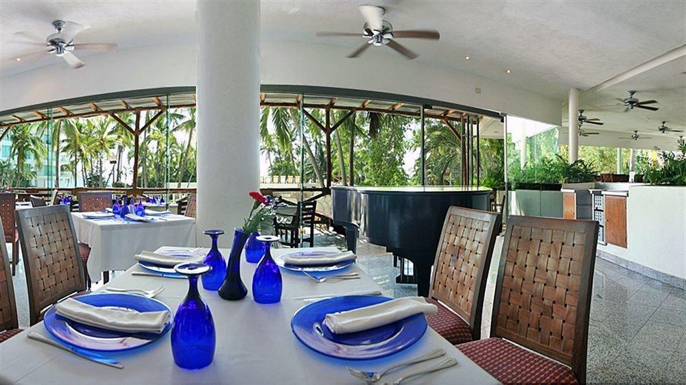 property building Resort restaurant home Villa cottage condominium blue