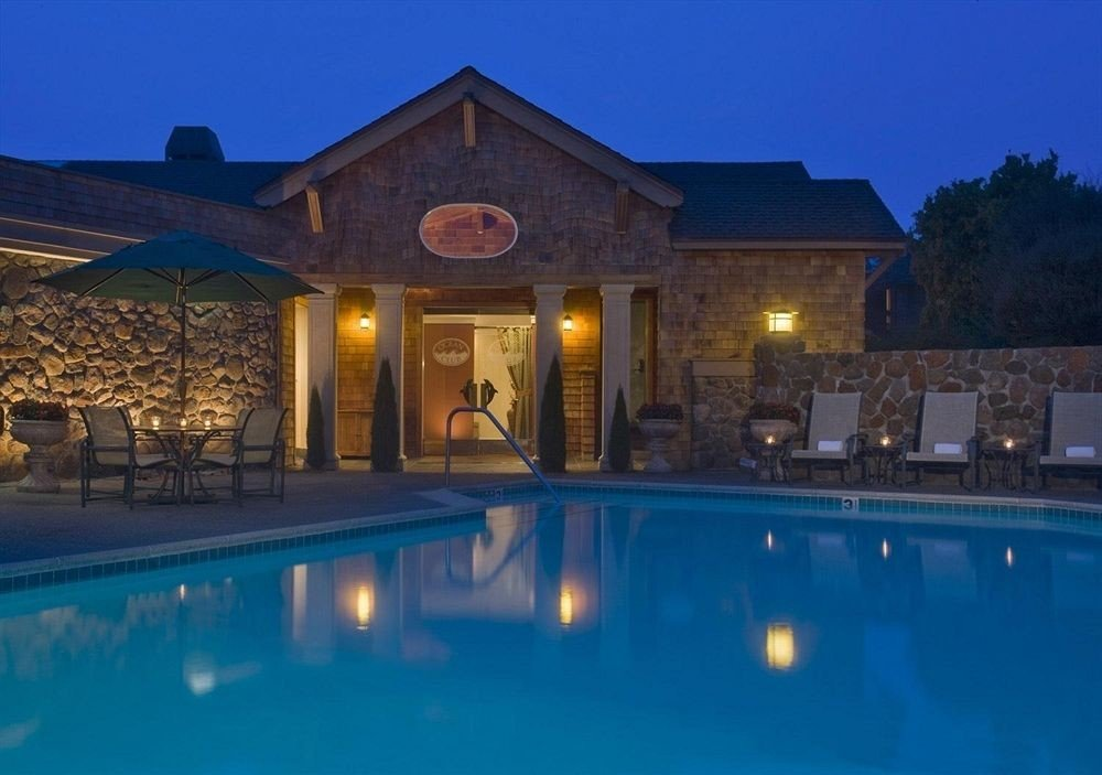 sky swimming pool property building house Resort home mansion Villa blue landscape lighting