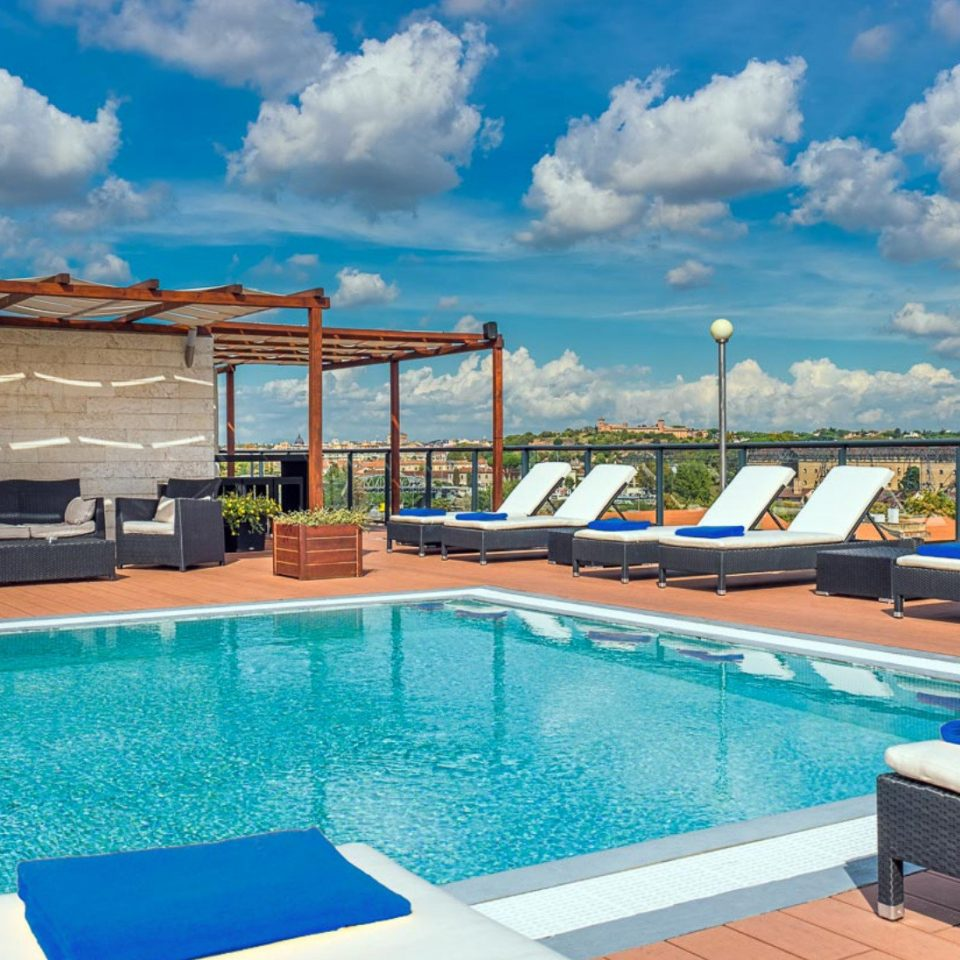 sky swimming pool leisure property Resort blue Villa caribbean condominium day