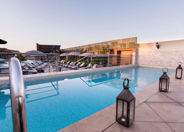 sky swimming pool leisure property chair Resort Villa condominium blue shore