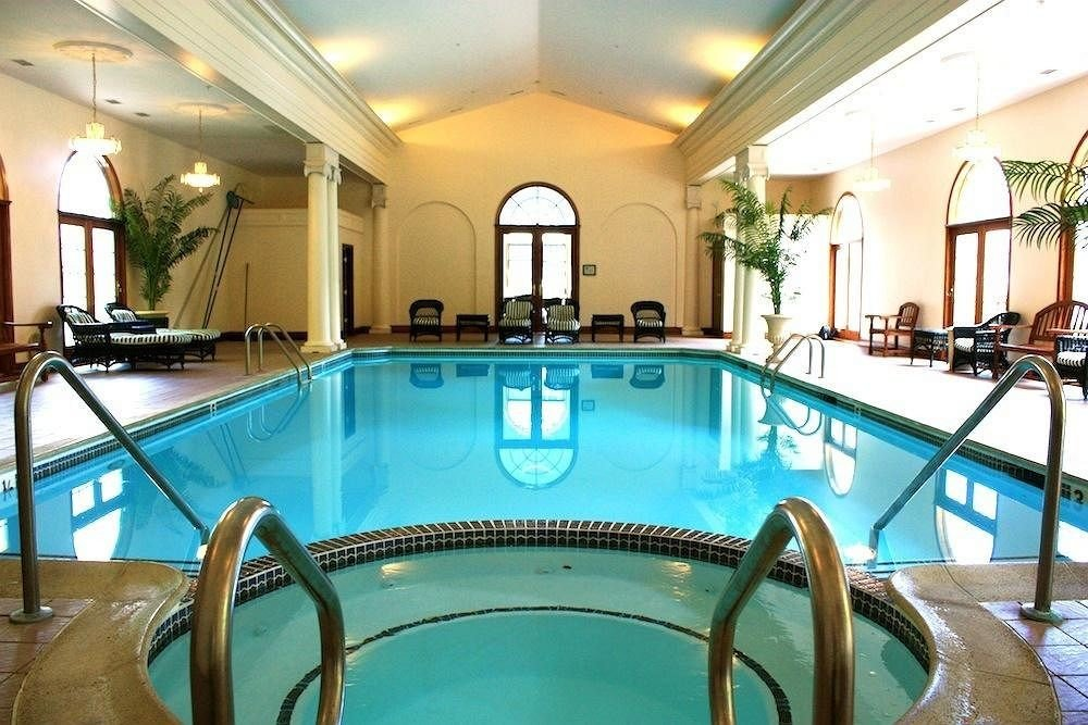 chair swimming pool property leisure Resort Villa mansion blue