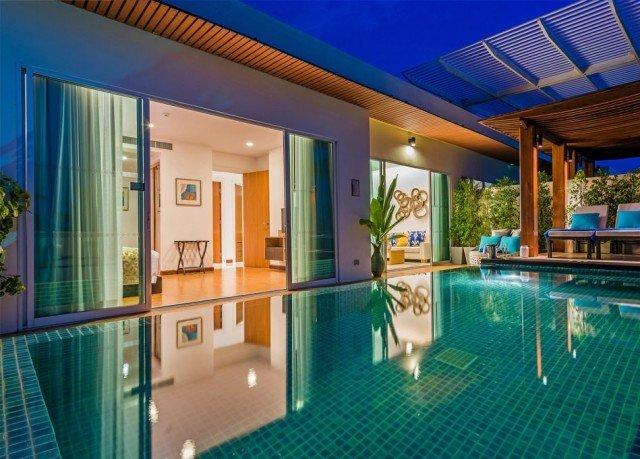 swimming pool property condominium leisure Resort leisure centre blue Villa mansion