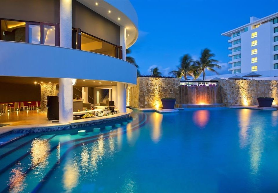 swimming pool property leisure Resort scene condominium blue leisure centre Villa resort town mansion
