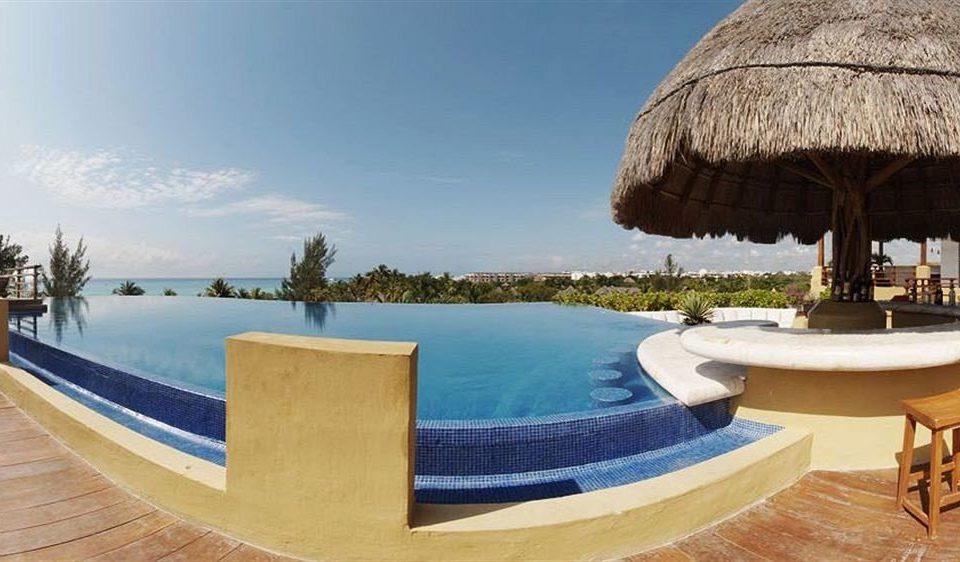 sky leisure swimming pool Resort Villa blue