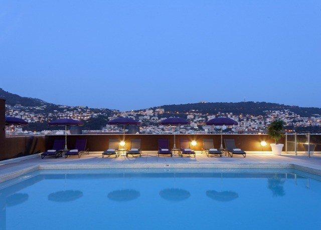sky swimming pool property Resort Villa blue