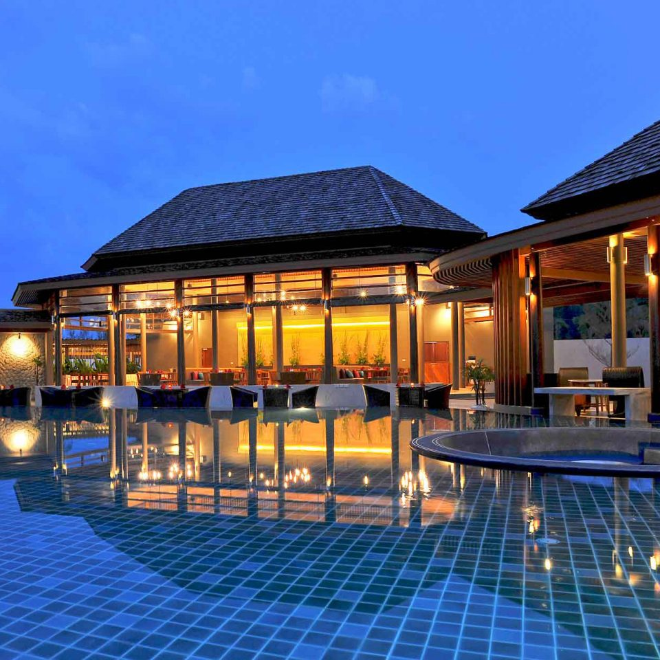 swimming pool property building Resort home Villa house condominium mansion