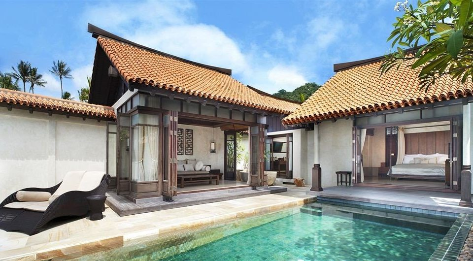 building sky property Villa house home condominium Resort swimming pool mansion cottage