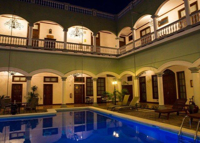 property building swimming pool Resort mansion Villa palace plaza condominium hacienda