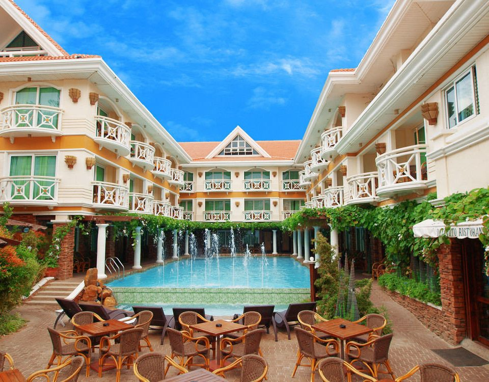 building property leisure Resort condominium palace home mansion Villa swimming pool porch