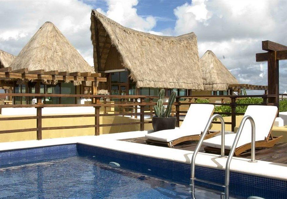property building swimming pool Resort Villa cottage restaurant