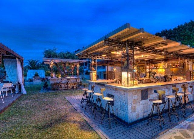 sky property Resort building Villa cottage eco hotel mansion hut