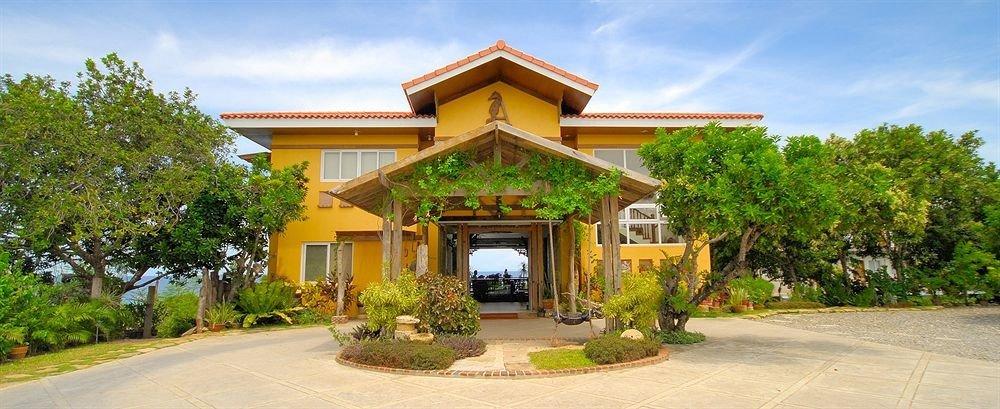 sky tree building property Resort house home Villa hacienda temple mansion eco hotel sign