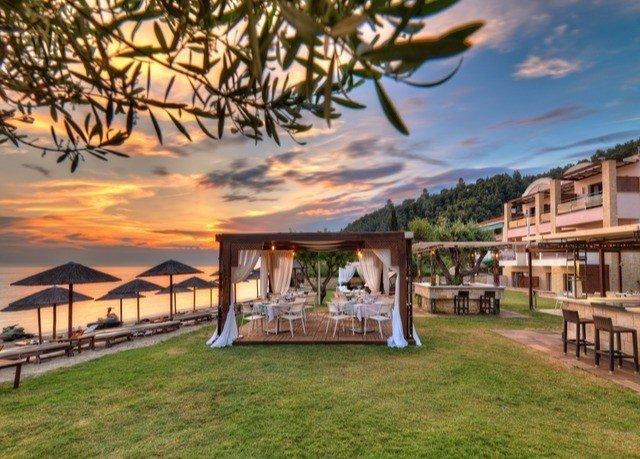 grass property building Resort home hacienda Villa mansion eco hotel house