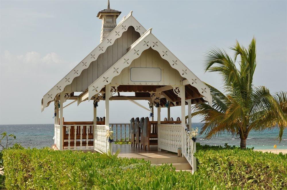 grass sky building lawn Resort tower Villa