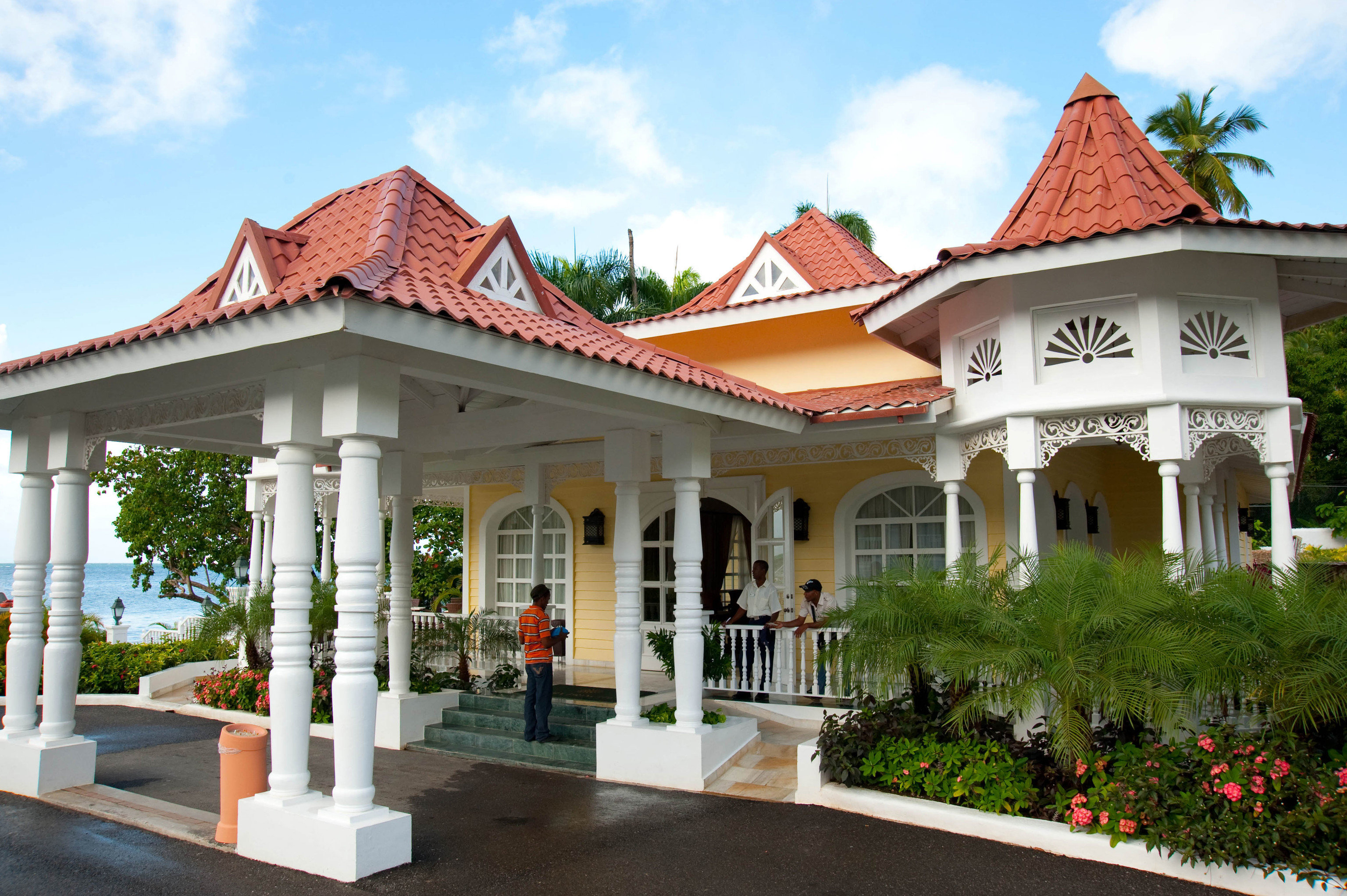sky building house home Resort temple Villa palace shrine hacienda
