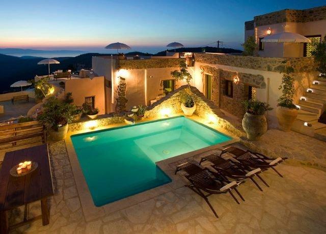 sky swimming pool property Villa building Resort mansion hacienda home