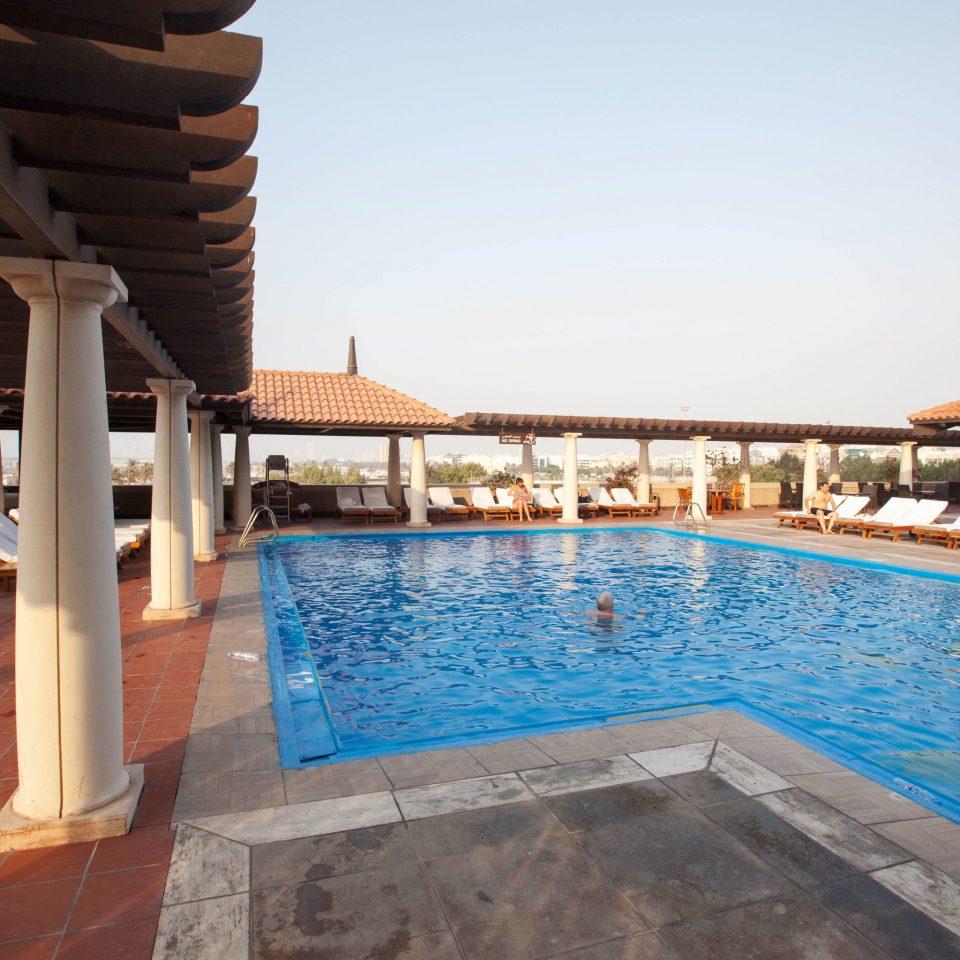 sky swimming pool property leisure building Resort Villa hacienda swimming