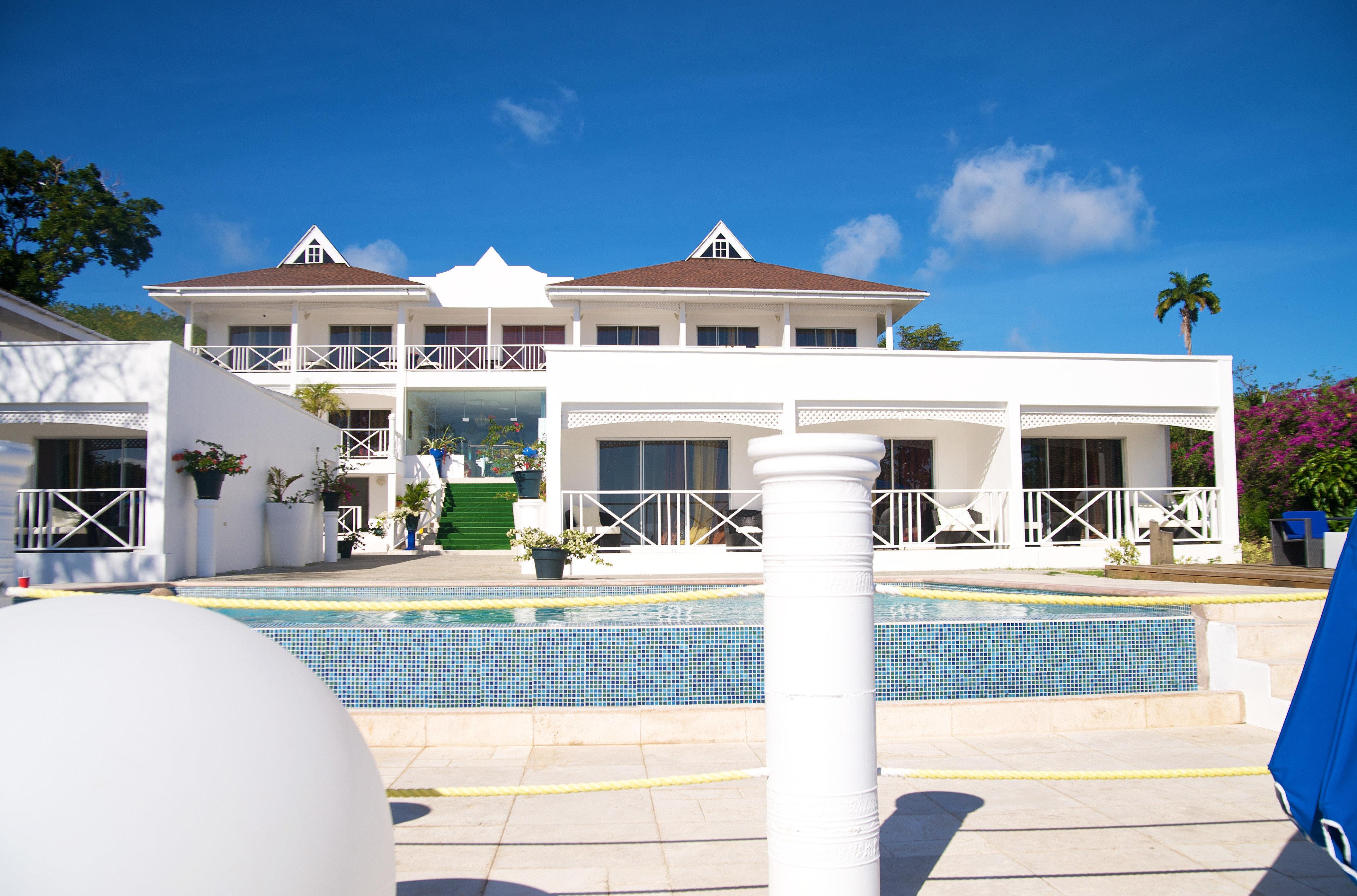 sky property leisure building home Resort house Villa mansion