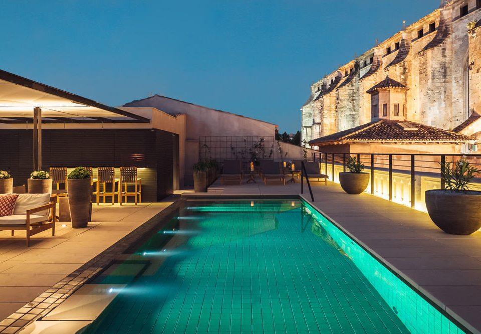 sky building swimming pool leisure property Resort Villa mansion