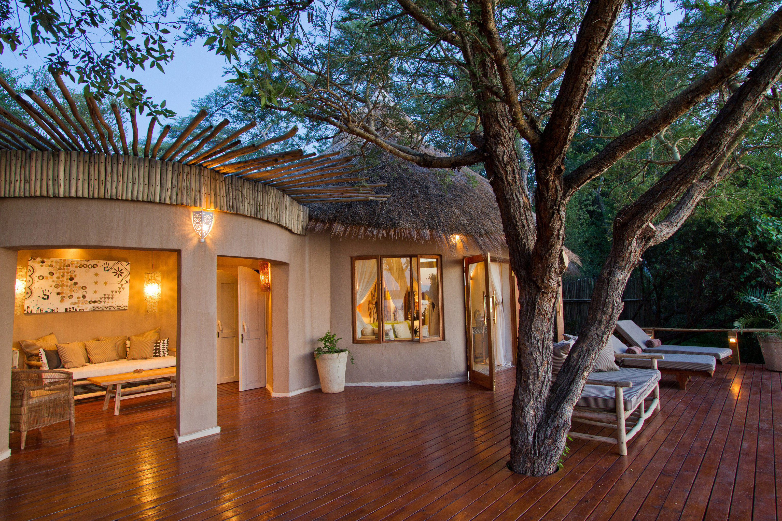 tree property home wooden house camp outdoor structure Resort Villa