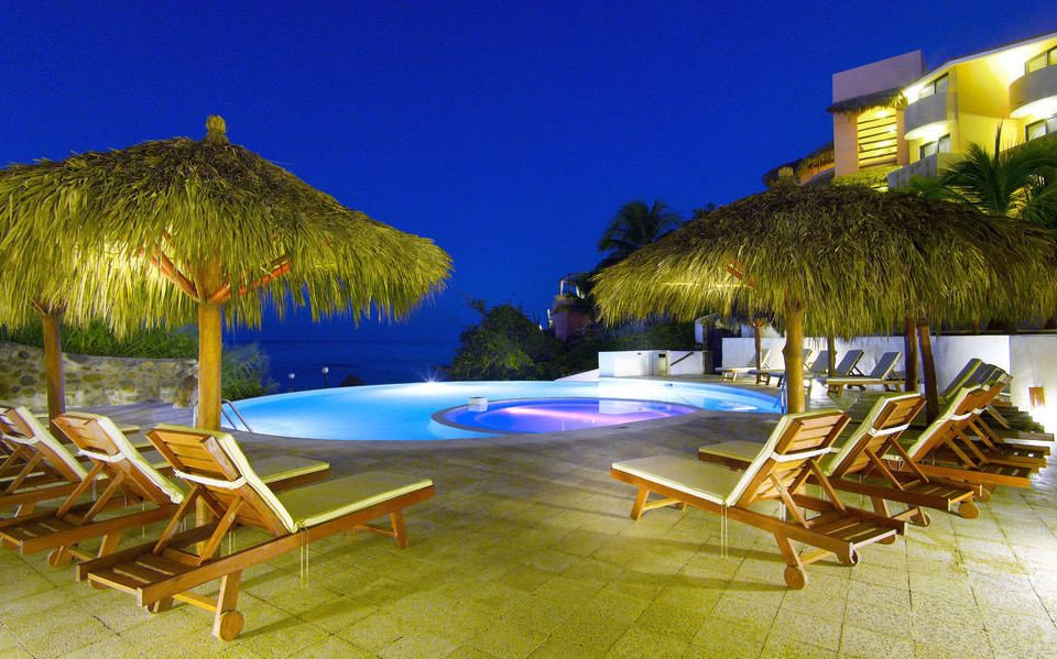 chair leisure Resort swimming pool Villa caribbean eco hotel lawn