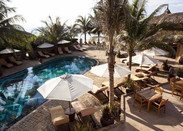 tree property Resort Villa swimming pool eco hotel hacienda palm condominium caribbean plant set lined