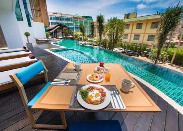 swimming pool property leisure Resort Villa wooden condominium caribbean
