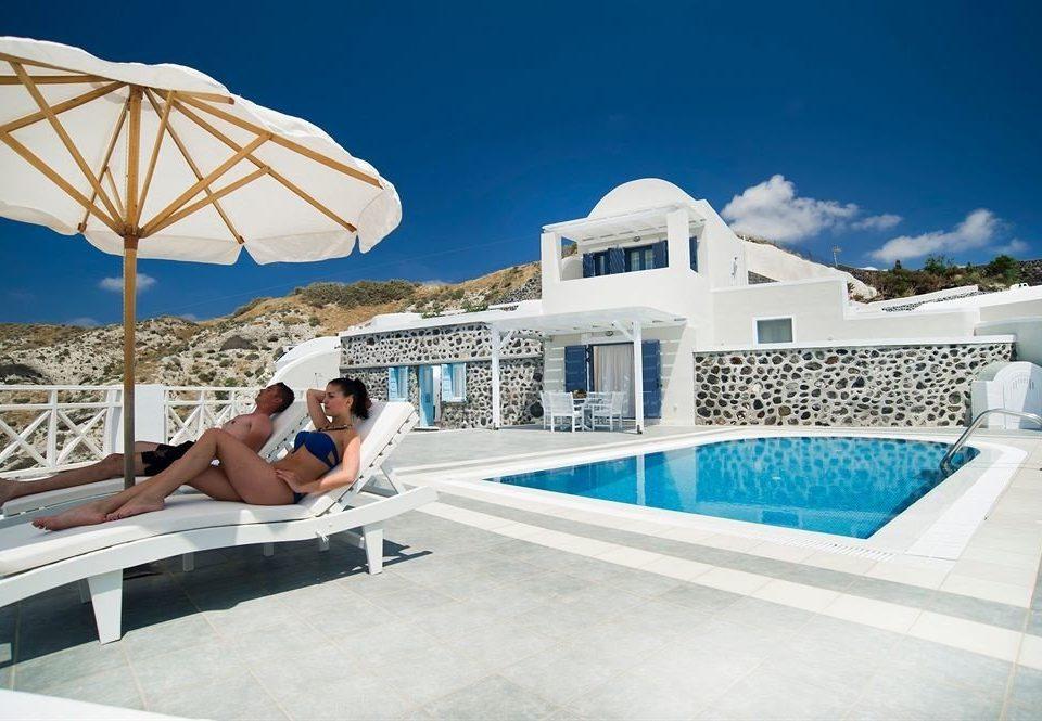 leisure swimming pool property caribbean Villa Resort day