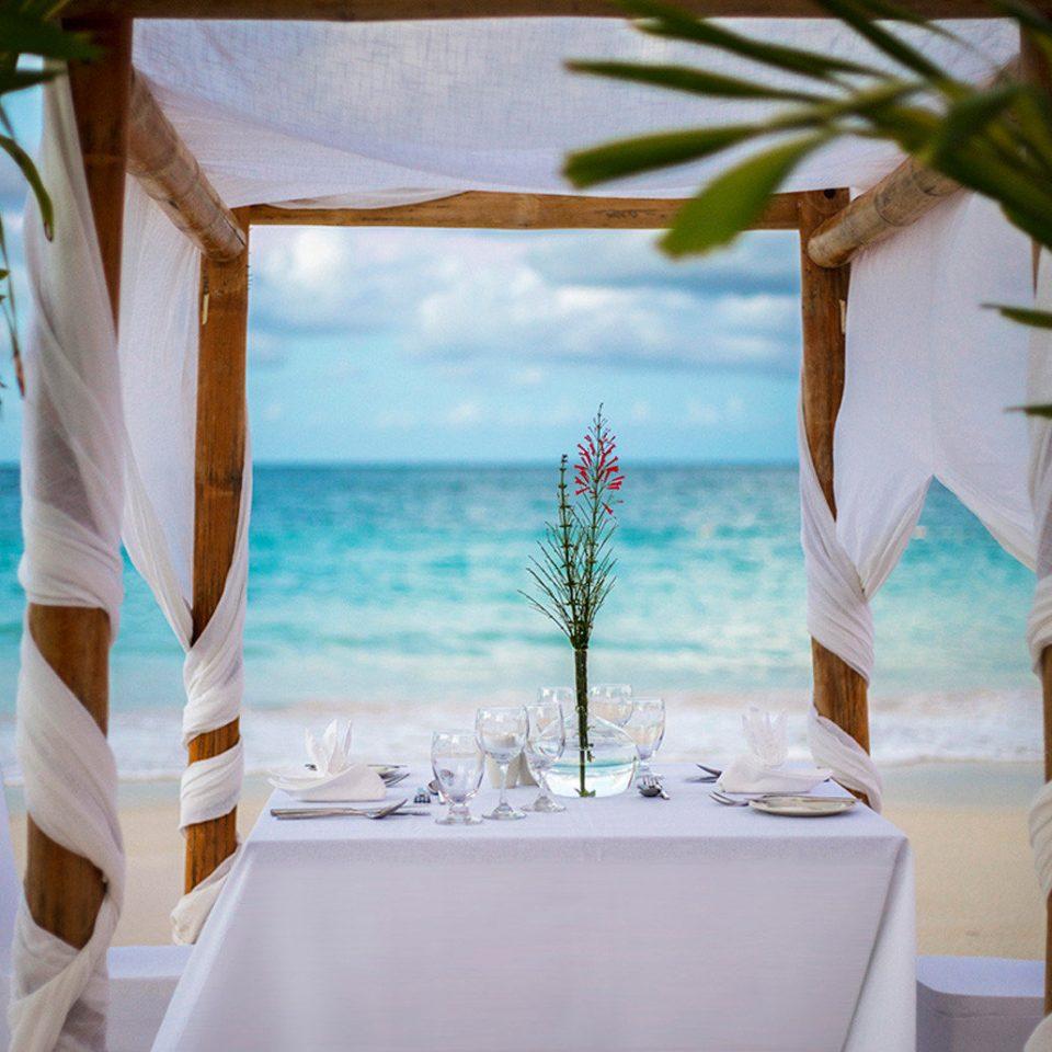 Resort restaurant white swimming pool caribbean Villa plant