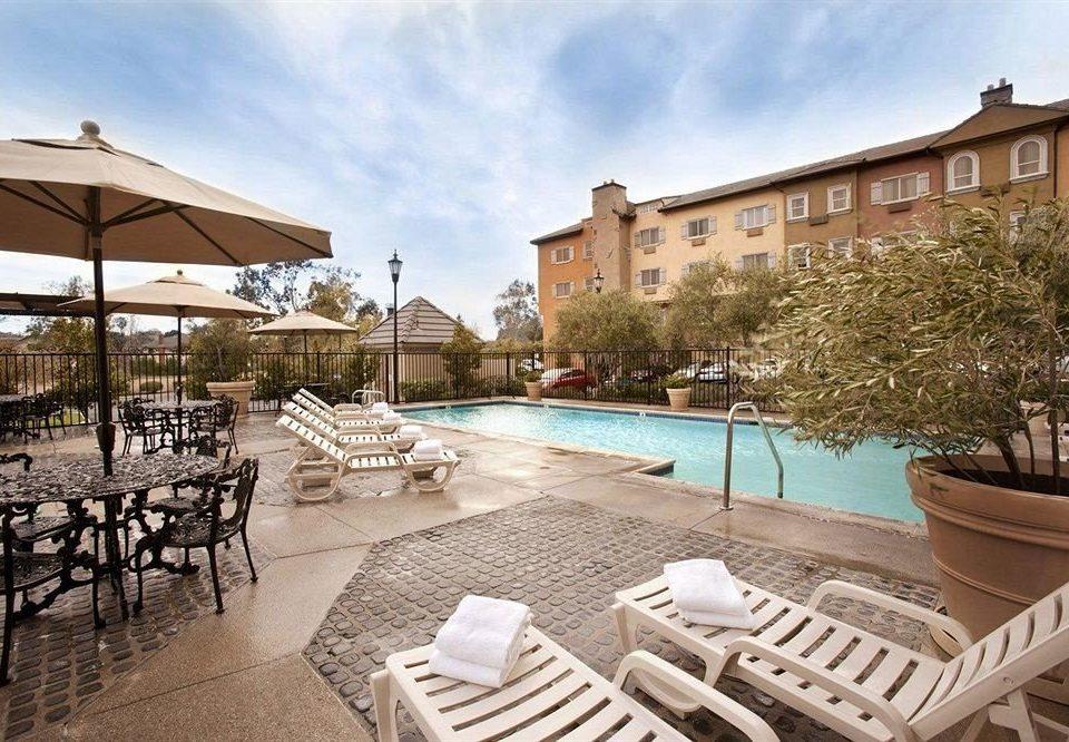 sky chair property Resort lawn palace Villa condominium home walkway set