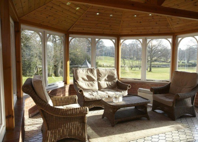 property chair porch living room home cottage outdoor structure Resort Villa