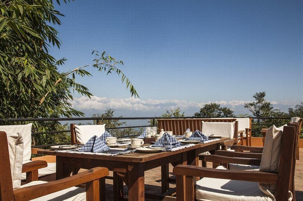 tree property chair Resort Villa wooden cottage
