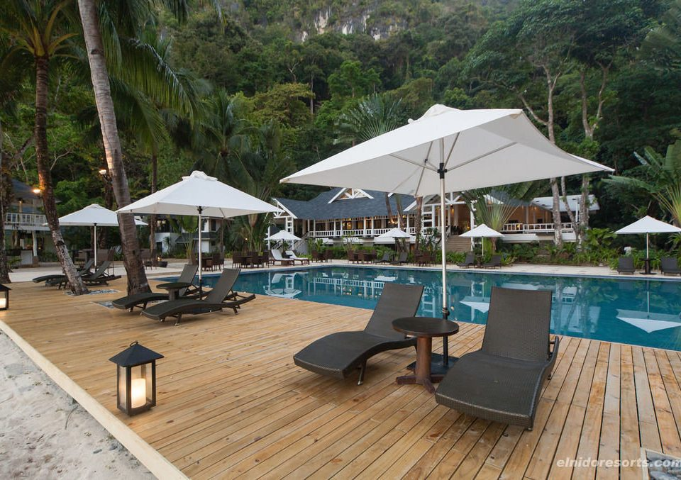 tree ground chair property leisure Resort swimming pool Villa wooden cottage dock outdoor structure open set day