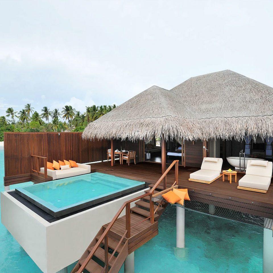 sky chair umbrella swimming pool leisure property Resort Villa cottage