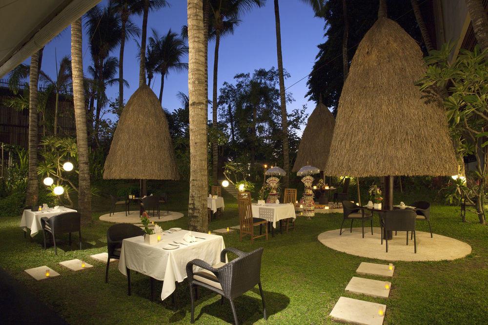 grass tree chair Resort hacienda restaurant Villa flower plant set