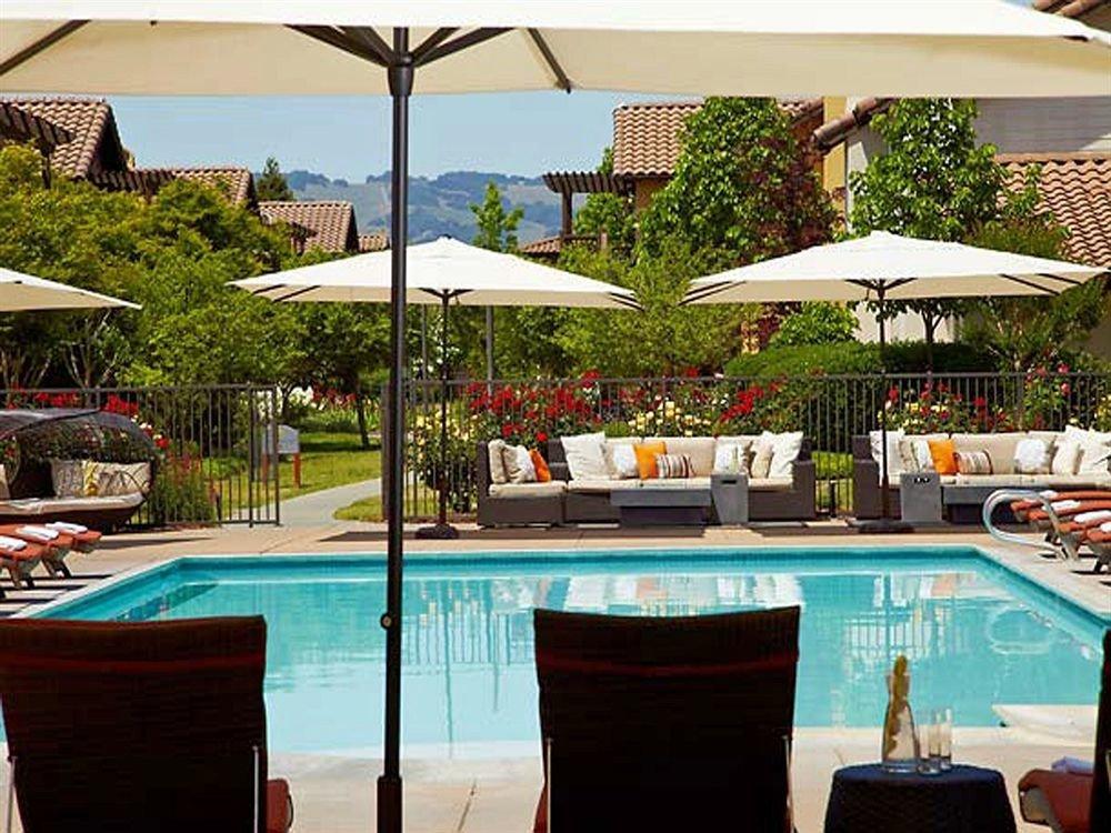 tree chair leisure property swimming pool Resort restaurant Villa
