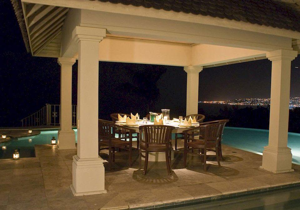 property Villa lighting Resort restaurant hacienda colonnade