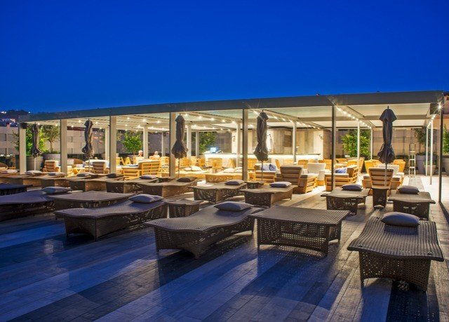 sky property Resort plaza condominium swimming pool Villa outdoor structure convention center