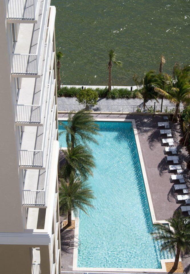 swimming pool property house condominium home mansion Villa Resort dock