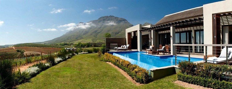 grass sky mountain property leisure Resort Villa green mansion condominium lush