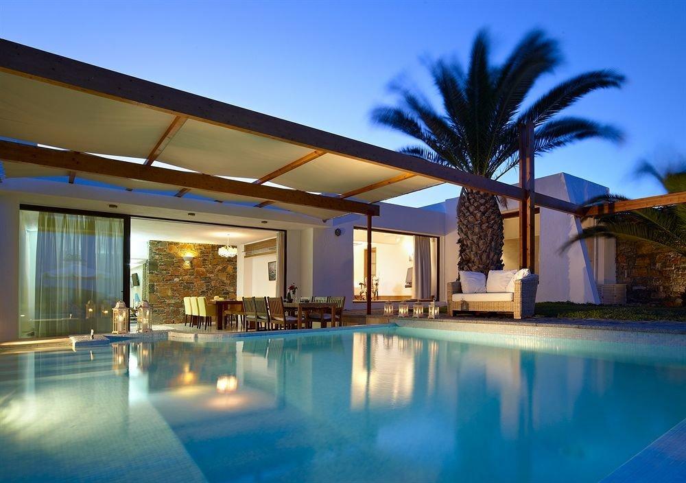 sky swimming pool property leisure Resort house leisure centre Villa condominium home mansion
