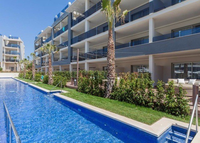 condominium swimming pool property Resort home residential area plaza Villa