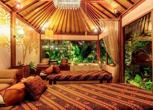 Resort eco hotel cottage Villa living room mansion