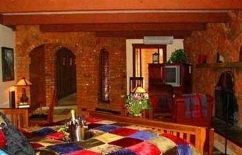property Villa hacienda cottage living room home mansion Resort log cabin