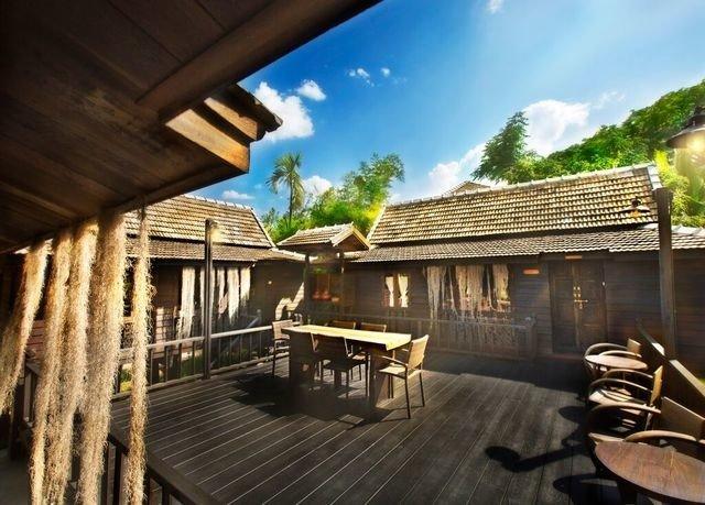 property house Resort Villa home wooden cottage log cabin