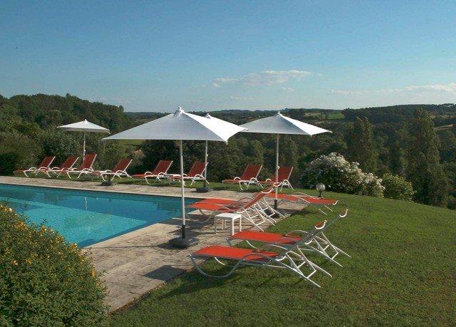 grass umbrella sky property leisure lawn swimming pool Villa Resort set day