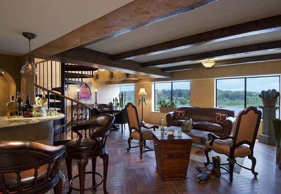 property restaurant Resort home Villa living room dining table