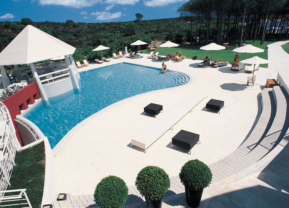 leisure swimming pool property Resort Villa marina dock