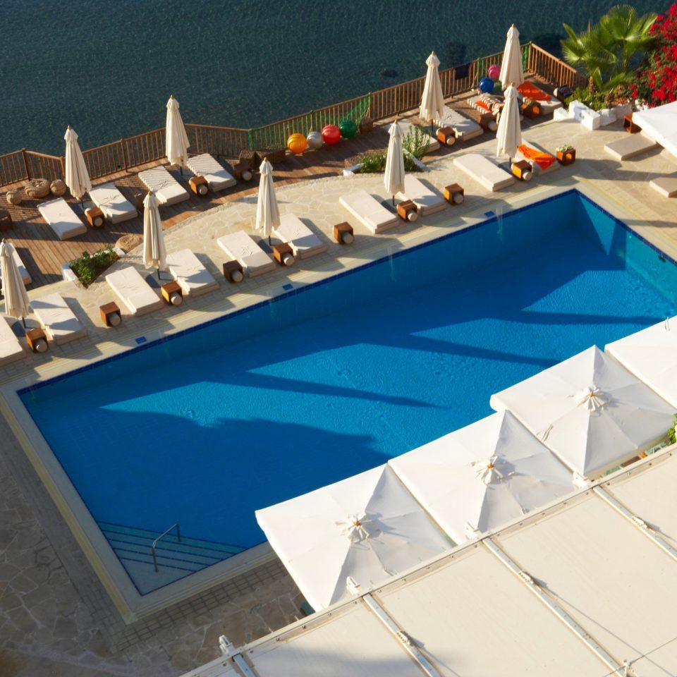 leisure swimming pool property marina Resort dock Villa